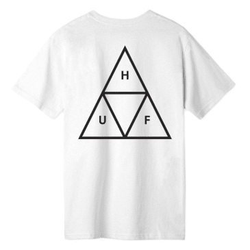 HUF Triple Triangle S/S T-Shirt White