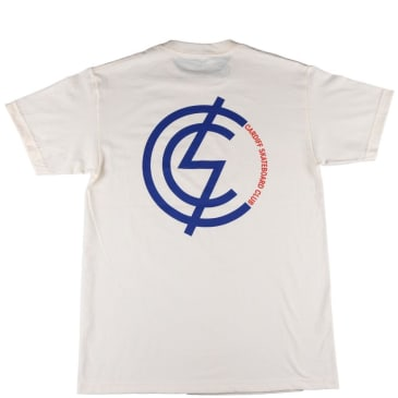 CSC Mod Two Tone T-Shirt - Cream