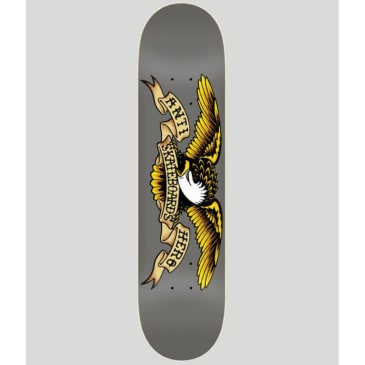 Anti Hero Classic Eagle Grey Skateboard Deck 8.25""