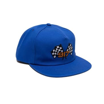 Call Me 917 Speedway Snapback - Blue