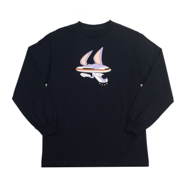 WKND Welcome to Earth Long Sleeve T-Shirt - Navy