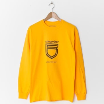 Stingwater Ryde Or Die Long Sleeve T-Shirt - Yellow