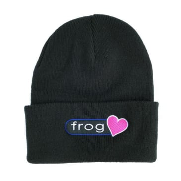 Frog Skateboards Perfect Heart Beanie - Black
