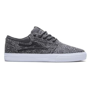 Lakai Griffin Canvas Skate Shoes - Charcoal