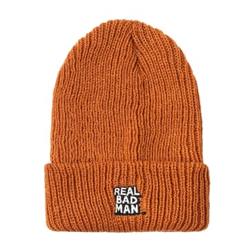 Real Bad Man RBM Beanie (Orange)
