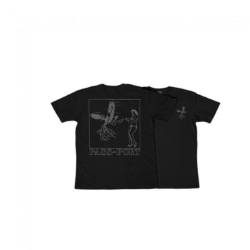 Passport Fly In Fly Out T-shirt - Black