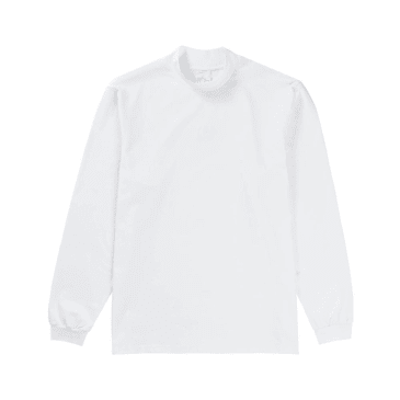 Polar Skate Co. Alv Mockneck - White