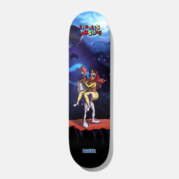 Baker Skateboards Theotis What's Her Name? Skateboard Deck - 8.25""
