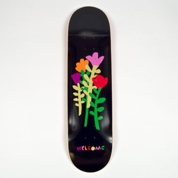 Welcome Skate Store - (Various Sizes) Rose Skateboard Deck (Black)