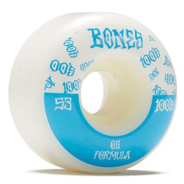 Bones 100's OG Formula V4 Wide Wheels- (53mm)