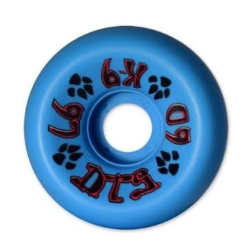 Dogtown Skateboards K-9 80's Wheels 60mm x 97a - Neon Blue