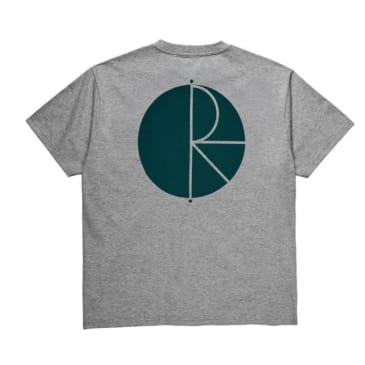 Polar Fill Logo T-Shirt - Heather Grey