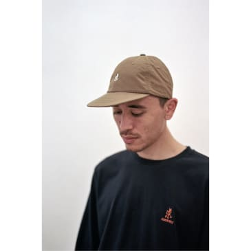 Shell Umpire Cap Tan