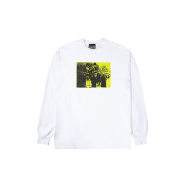Babylon LA Burn It Down Long Sleeve T-Shirt - White