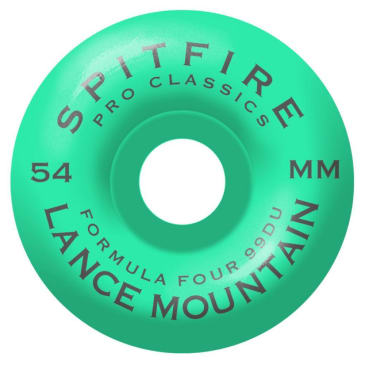 Spitfire Formula Four Pro Classic Lance Mountain Wheels 54 mm 99DU