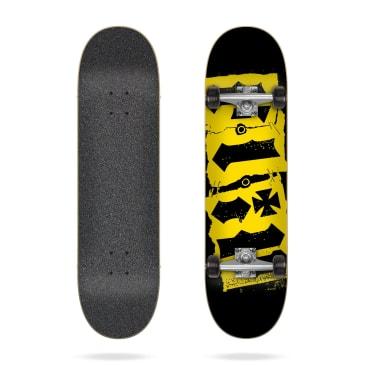 """Flip Skateboards - 7.5"""" Team Destroyer Black Complete Skateboard"""