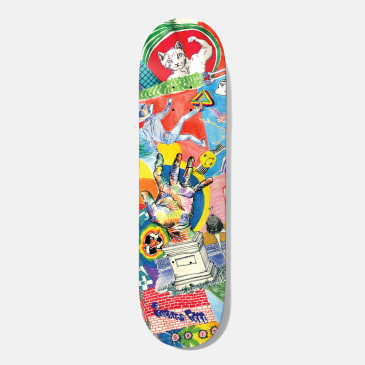 Baker Skateboards T-Funk Thoughts Skateboard Deck - 8.5