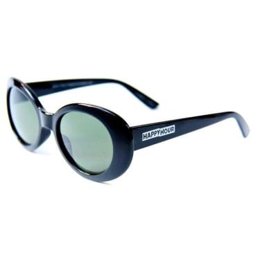 Happy Hour Beach Party Sunglasses Black
