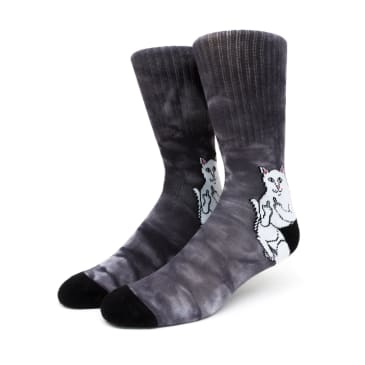 Rip n Dip Lord Nermal Socks - Black Lightening Wash