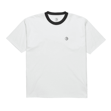 Polar Ringer Tee - White/Black