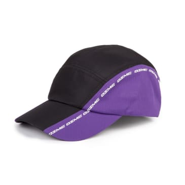 Dime Turbo Hat Black & Purple