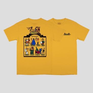 Pass~Port- Trickle Down Tee Gold