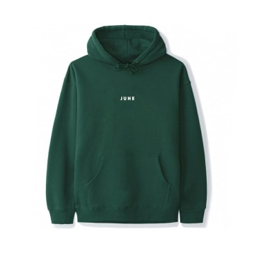 June - PUFF! Youth Hoodie - Green, White