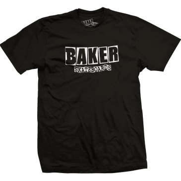 Baker Skateboards Brand Logo T-Shirt - Black