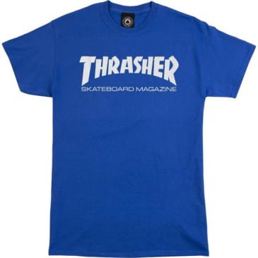 Thrasher - Skate Mag SS Royal/White Large