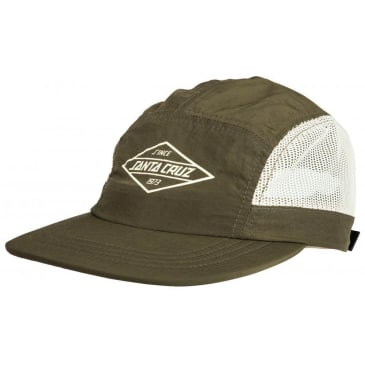 Santa Cruz Off Shore Five Panel Cap - Sage