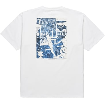 Polar Stage Three Tee - White