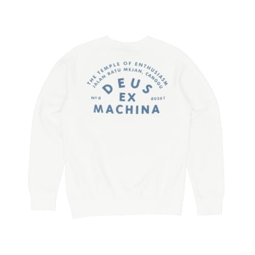 Deus Ex Machina Canggu Address Sweatshirt - Vintage White