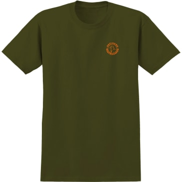 ANTIHERO Basic Pigeon Round Tee Military Green