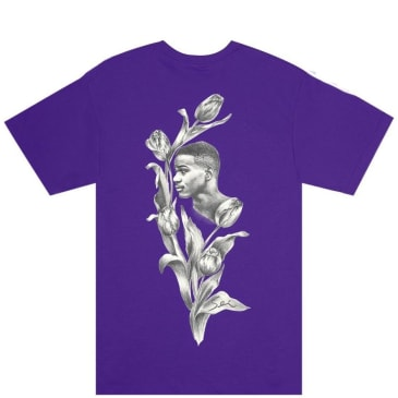Fucking Awesome Flowers T-Shirt - Purple