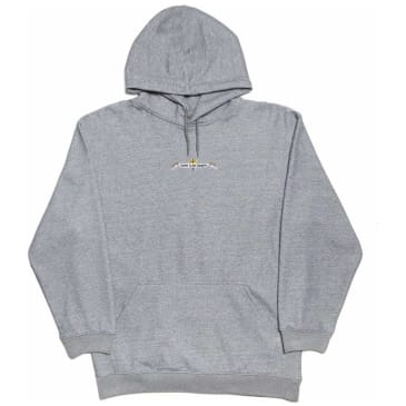 Come To My Church Logo Hoodie - Grey
