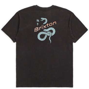 Brixton Mamba T-Shirt - Washed Black