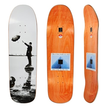 Polar Skate Co I Like It Here Harbour Skateboard Deck - 9.25""