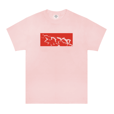The National Skateboard Co. Sprinter T-Shirt - Pink