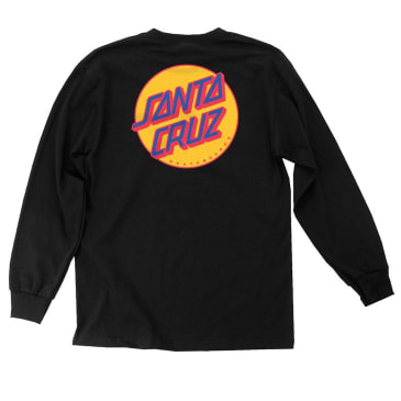 SANTA CRUZ Other Dot Longsleeve Black/Mustard