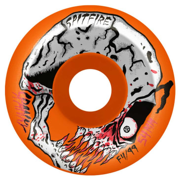 Spitfire Formula Four Conical Spanky Neckface Wheel 52mm