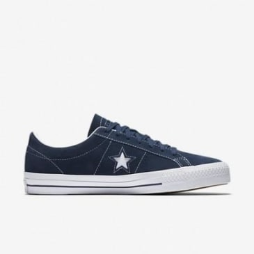 CONVERSE ONE STAR PRO - NAVY WHITE