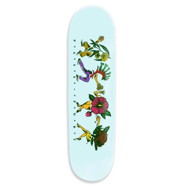 Passport Floral Friends Deck Sky 8.6""