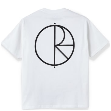Polar Skate Co Stroke Logo T-Shirt - White