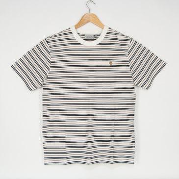 Carhartt WIP - Akron Stripe T-Shirt - Wax