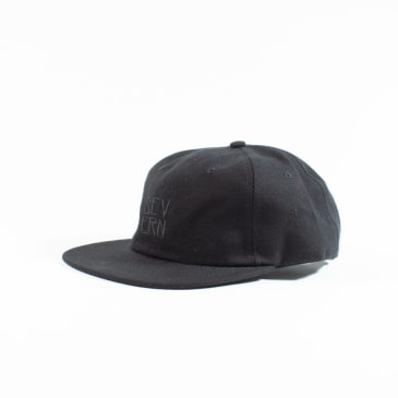 Severn Silt 6 Panel Cap - Black / Wool