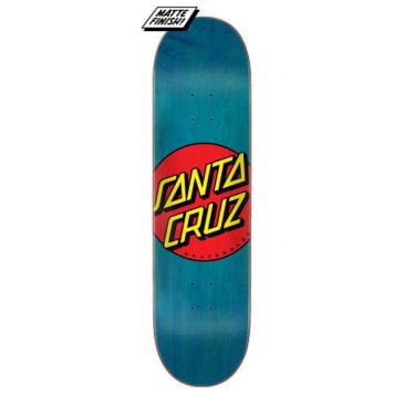 Santa Cruz Classic Dot Blue Stain Skateboard Deck - 8.5