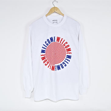 Welcome Skate Store - Sound Longsleeve T-Shirt - White