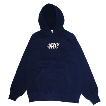 Canal New York - Lipstick Hoodie - Midnight Navy