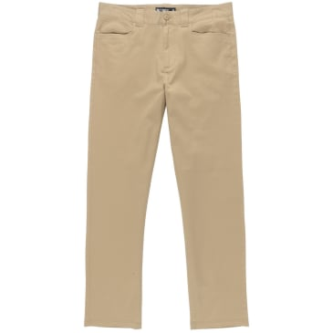 Element Skateboards Sawyer Khaki Stretch Regular Fit Pants
