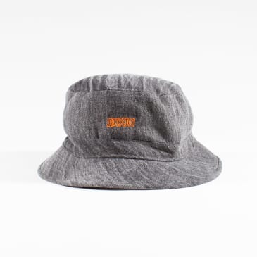 Brixton Simmons Bucket Hat - Washed black